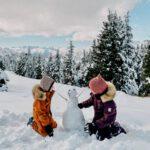 Herbst oder Winter? - Unsere Ferien in Österreich mit wirklich wetterfester Kleidung